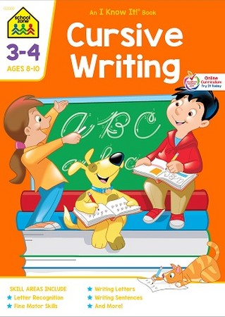 Grades 3-4 Cursive Writing