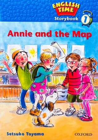 Readers English Time 1 Annie and the Map همراه با سي دي