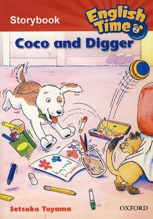 Readers English Time 2 Coco and Digger همراه با سي دي