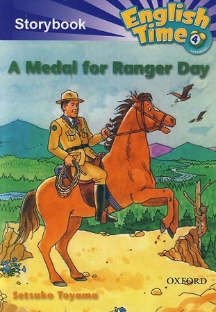 Readers English Time 4 A Medal for Ranger Day همراه با سي دي