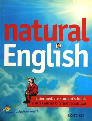natural English Inter رنگي همراه با سي دي
