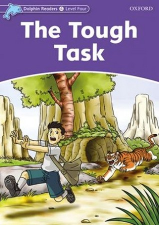 Dolphin Readers 4 The Tough Task همراه با سي دي