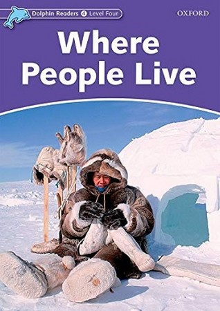 Dolphin Readers 4 Where People Live همراه با سي دي