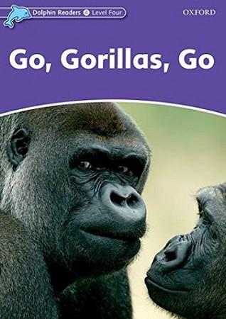 Dolphin Readers 4 Go Gorillas Go همراه با سي دي