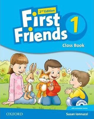 First Friends 1 ويرايش دوم رحلي رنگي