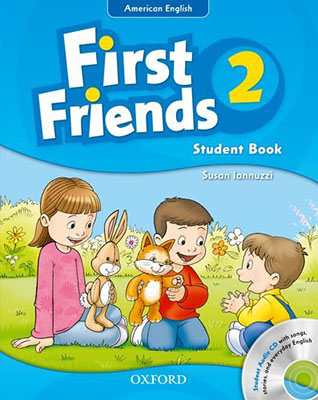 American English First Friends 2 St & WB +CD