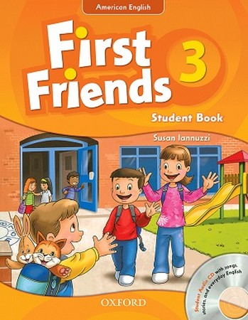 American English First Friends 3 St & WB +CD