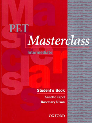 PET Masterclass Intermediate Student به همراه سي دي