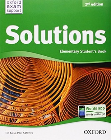 SOLUTIONS / ELEMENTARY / ST