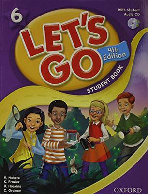 Lets Go 6 ويرايش چهارم رنگي همراه با سي دي رحلي