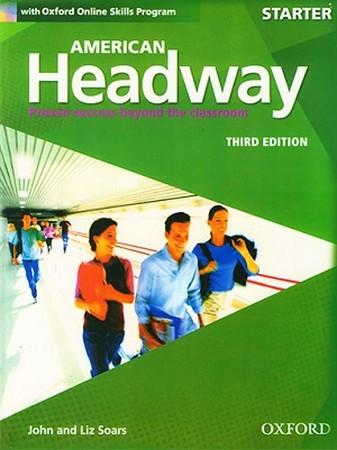 American Headway Starter ويرايش سوم رنگي همراه با سي دي