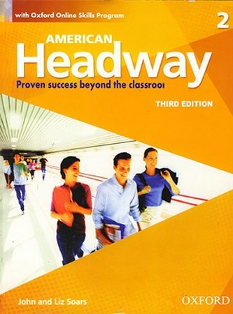 American Headway 2 ويرايش سوم رنگي همراه با سي دي