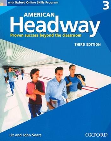 American Headway 3 ويرايش سوم رنگي همراه با سي دي
