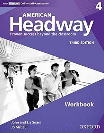 American Headway 4 ويرايش سوم Work Book