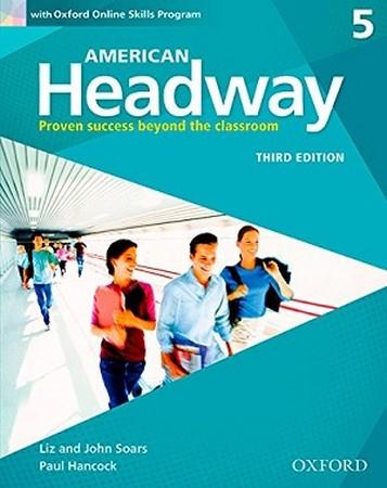 American Headway 5 ويرايش سوم رنگي همراه با سي دي