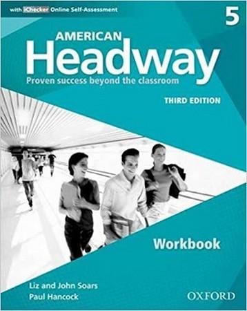 American Headway 5 ويرايش سوم Work Book