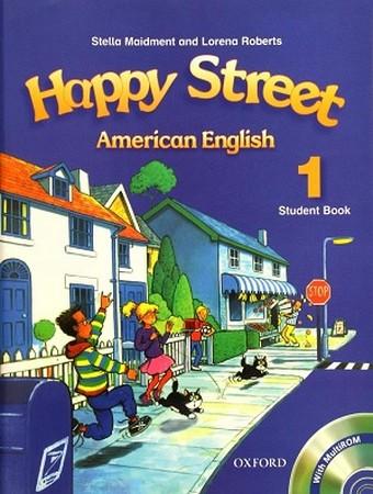 Happy Street  American English 1 رنگي همراه با سي دي