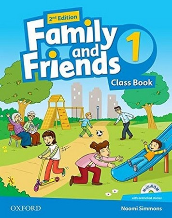 Family and Friends 1 ويرايش دوم رنگي رحلي