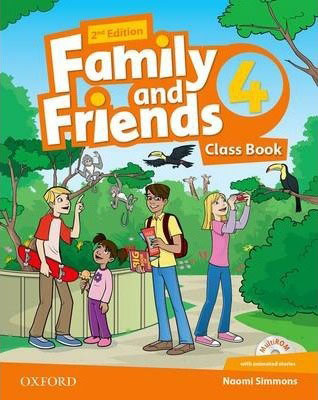 Family and Friends 4 ويرايش دوم رنگي رحلي