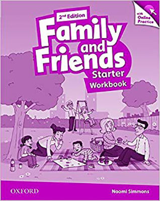 Family and Friends Starter Work Book ويرايش دوم