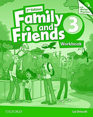 Family and Friends 3 ويرايش دوم WorkBook