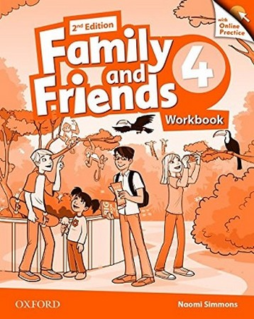 Family and Friends 4 ويرايش دوم WorkBook
