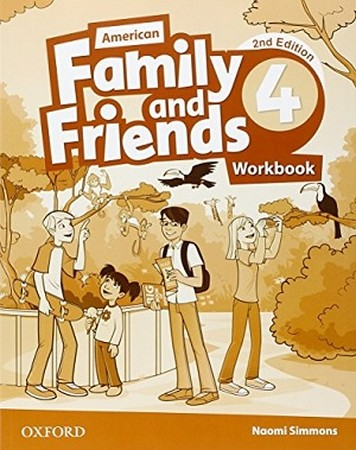 American Family and Friends 4 ويرايش دوم WorkBook