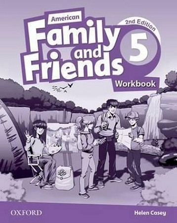 American Family and Friends 5 ويرايش دوم WorkBook