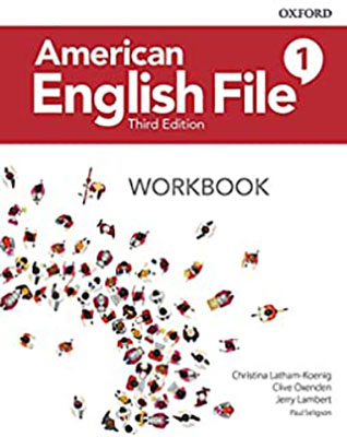 American English File 1 - Third Edition + CD