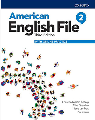 American English File 2 - Third Edition +CD