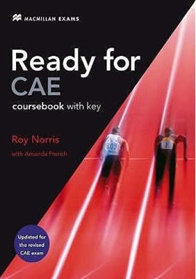 Ready for Cae COURSE BOOK WITH KEY به همراه سي دي