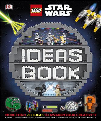 LEGO STAR WARS IDEAS BOOK : MORE THAN 200 GAMES,ACTIVITES, AND BUILDING IDEAS