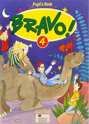 Bravo 4 Pupils Book به همراه سي دي رنگي