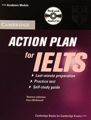 َAction Plan For IELTS آكادميك متد همراه با سي دي