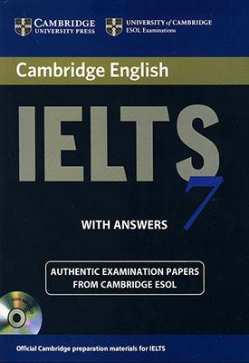 Cambridge English IELTS 8 همراه با سي دي دو رنگ