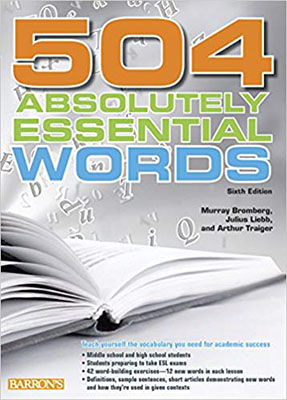 504ABSOLUTELY ESSENTIAL WORDS SIXTH Edition