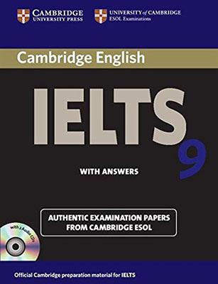 Cambridge English IELTS 9 همراه با سي دي