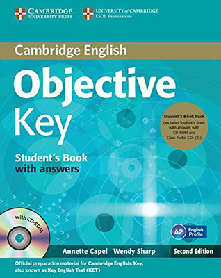 Cambridge English Objective Key Student Book with Cd ويرايش دوم