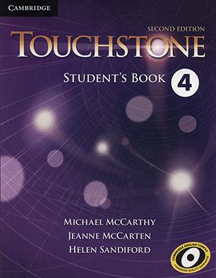 Touchstone 4 ويرايش دوم رنگي همراه با سي دي