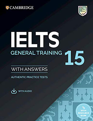 Cambridge Ielts General Training 15 With Answers + CD
