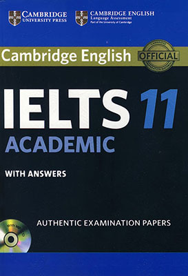 Cambridge English IELTS 11 Academic همراه با سي دي