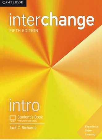 CAMBRIDGE inter change intro ويرايش 5 رنگي همراه cd