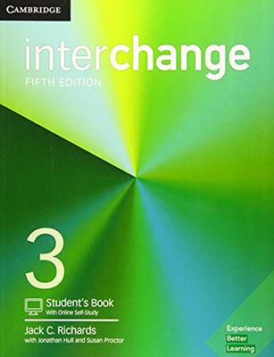 inter change 3 ويرايش پنجم  رنگي همراه با سي دي