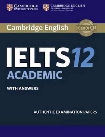 Cambridge English IELTS 12 Academic همراه با سي دي