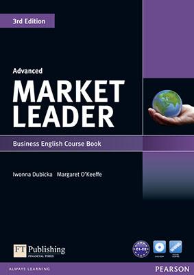 MARKET LEADER (3rd) ADVANCED +CD (SB+WB)