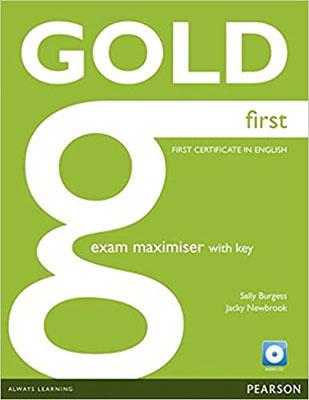 Gold First Exam maximiser 2015به همراه سي دي