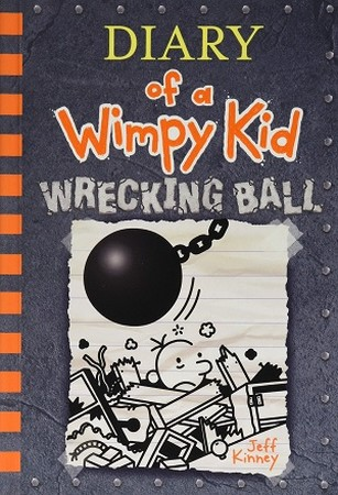 DIARY OF A WIMPY KID WRECKING BALL شوميز