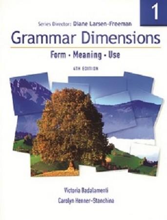grammar dimensions 4th edition جلد1