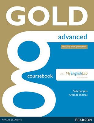 Gold Advance Courser book به همراه سي دي 2015