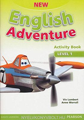 New English Adventure Level 1 Work Book